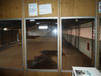 Sala com Vista Galpão Plataforma